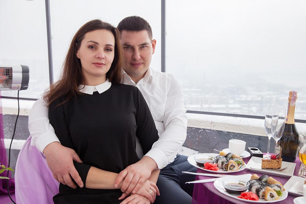 Предложение на крыше, Киев, сервис романтики Альтечо