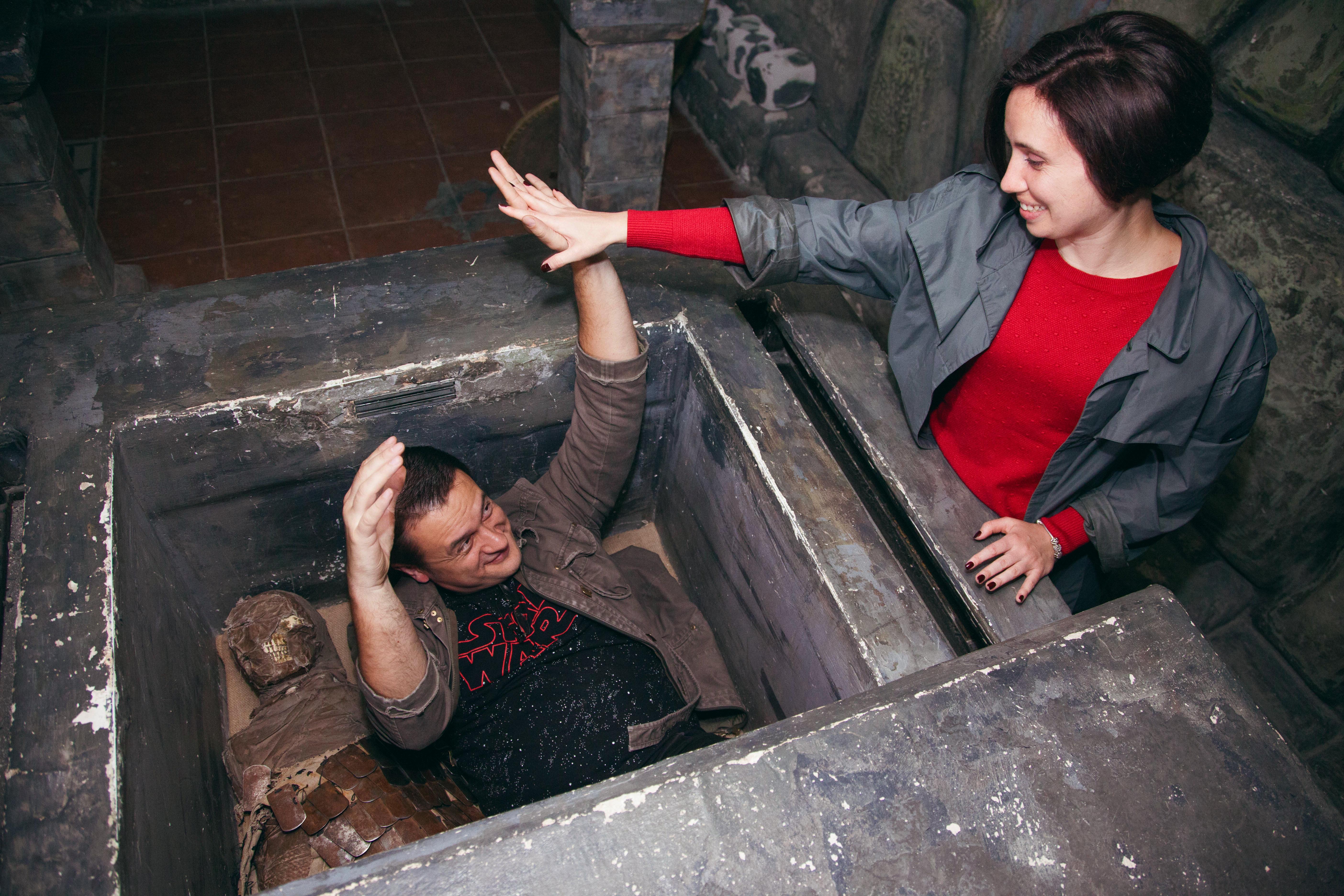 Романтический ужин в подземелье от сервиса романтики Альтечо (4)