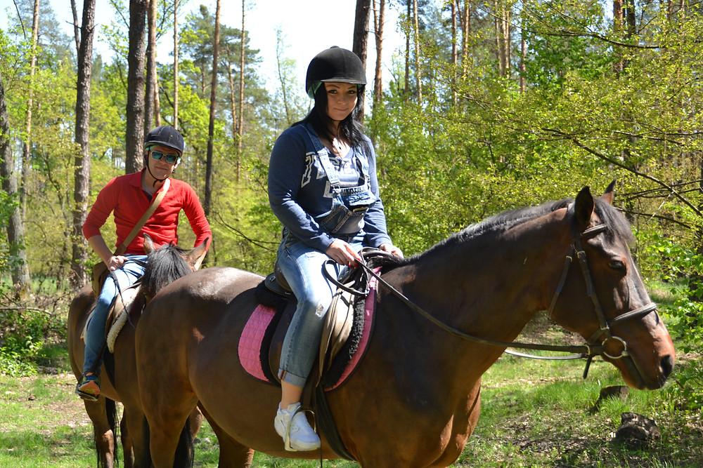 Романтический ужин в лесу с прогулкой на лошадях, Киев, Сервис романтики Альтечо 13