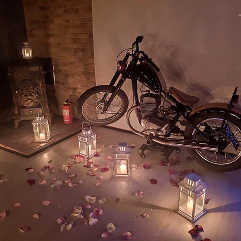 Романтика в стиле Лофт