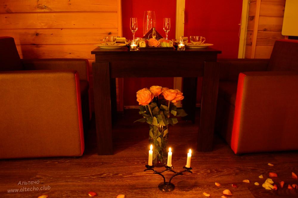 Альтечо свидание на крыше, романтический ужин, вечер для двоих 10