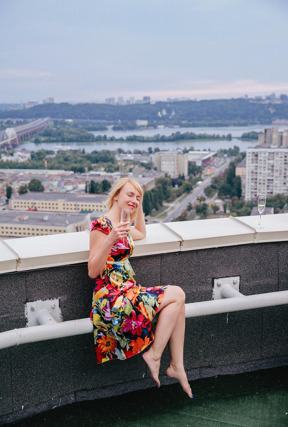 Фотосессия на крыше, Альтечо, Киев