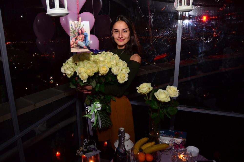 Ресторан для двоих на крыше, Киев, Альтечо