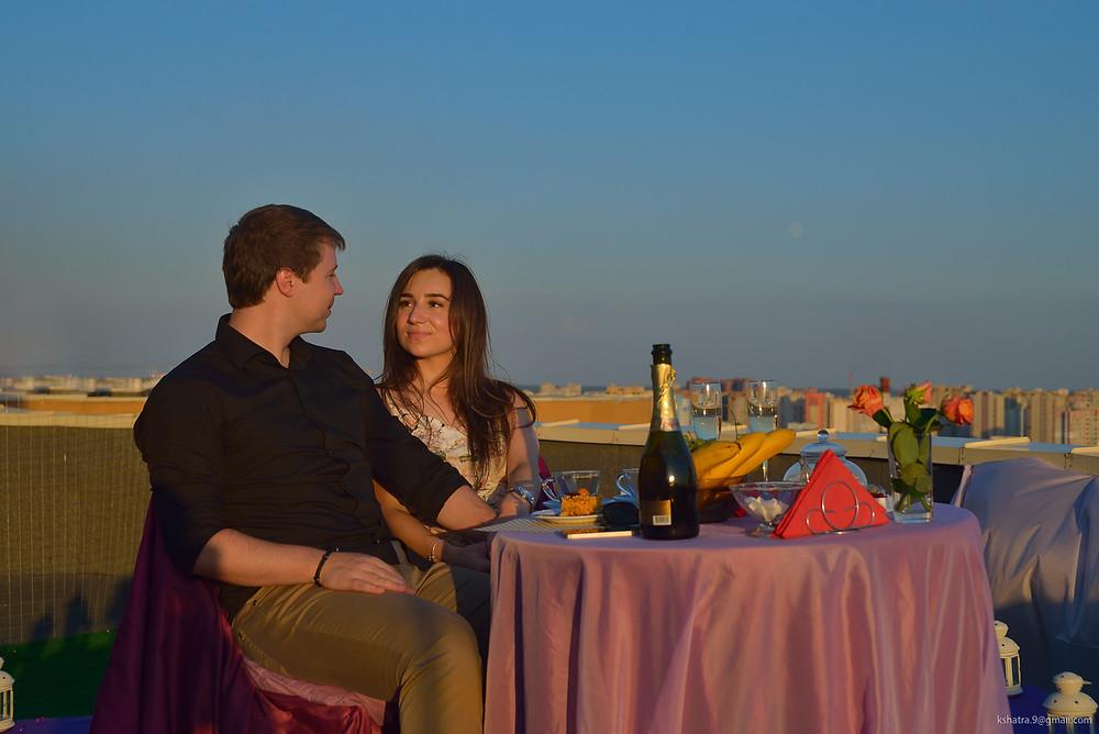 Закат, Альтечо свидание на крыше 7