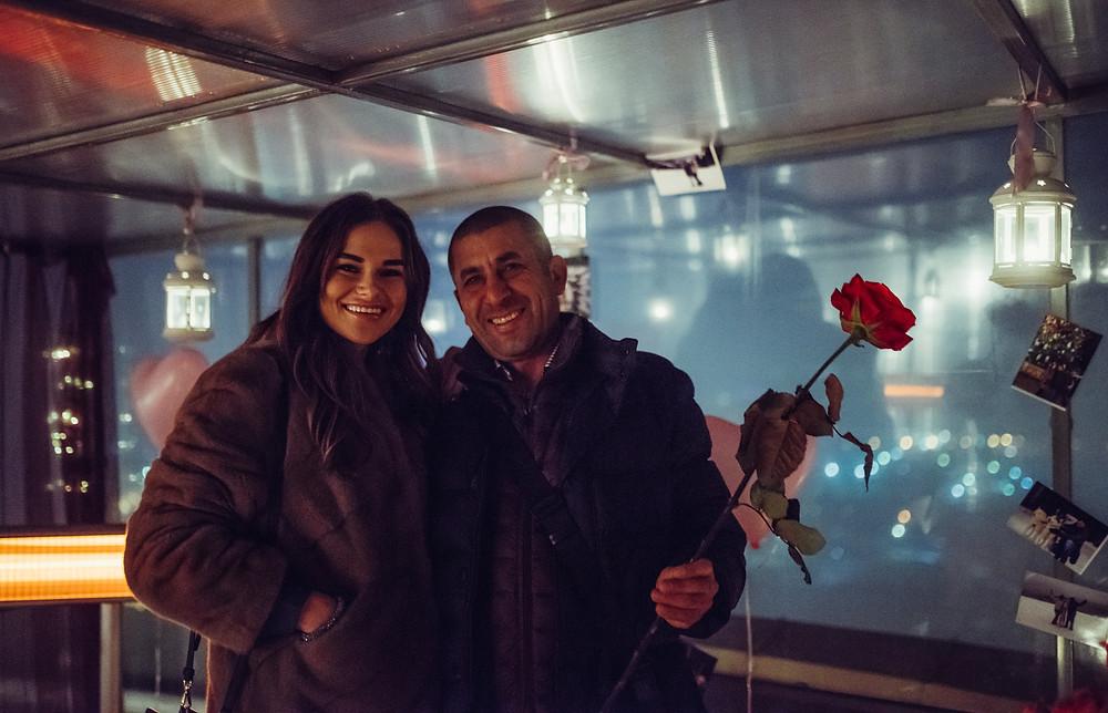 Зимнее свидание на крыше, Киев, Альтечо