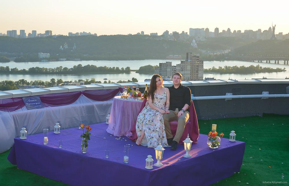 Закат, Альтечо свидание на крыше 3