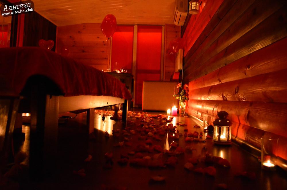 Альтечо, Романтический вечер, Свидание на крыше, ужин для двоих  10