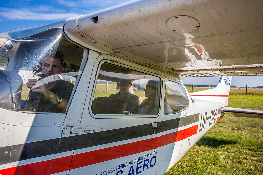 Полет на самолете для двоих, Киев, Сервис романтики Альтечо