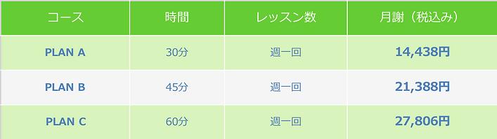 Price List-1on1-ABC-Table