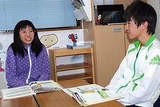 Reading Book Interview 高校生コース 子供英会話 ザッツ英会話スクール 守谷市 茨城県 外国人先生 講師 楽しく学ぶ