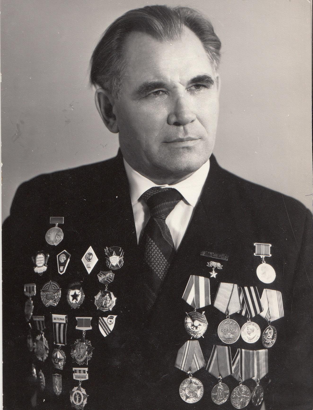 Щербец Петр Петрович ветеран 7-й армии 1
