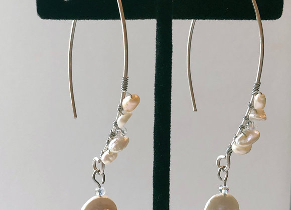 Pearl wrapped Threaders