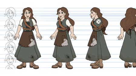 Johanna Character Turn Around