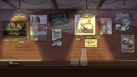 The Job Full Bar Background