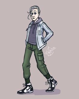 Matt in Street Fashion (2020)