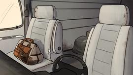 The Job Van Interior Background