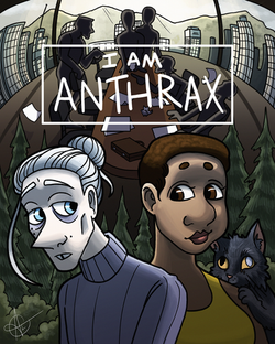 I Am Anthrax Webcomic Anniversary Poster