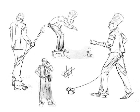 Character Figure Drawings