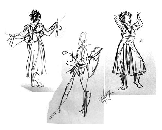Gesture Drawings 1