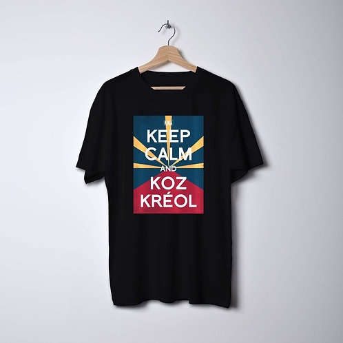 Keep calm & koz kreol