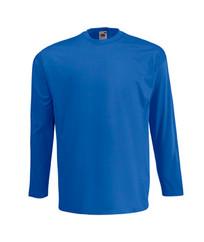 T-Shirt Manche Longue Bleu Royal