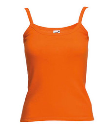Débardeur Femme Orange