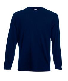 T-Shirt Manche Longue Bleu Marine