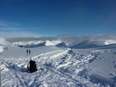 Landschaft Silvretta Montafon