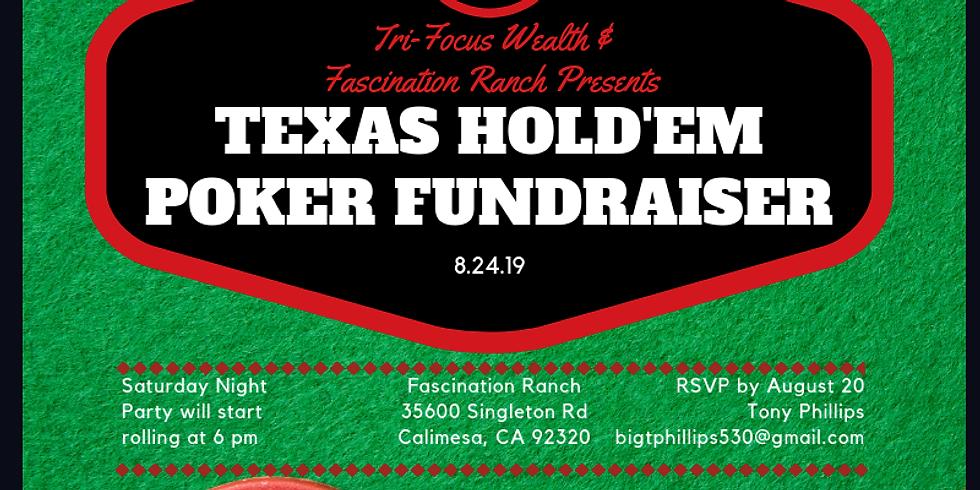 Texas Hold'em Poker Night Fundraiser