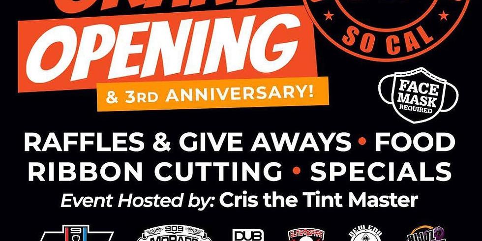 Cris the Tint Master Grand Opening & Ribbon Cutting