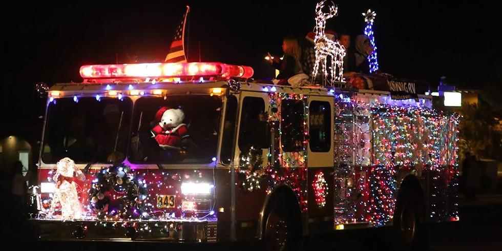2019 Get Your Lights on, Calimesa! Christmas Light Parade