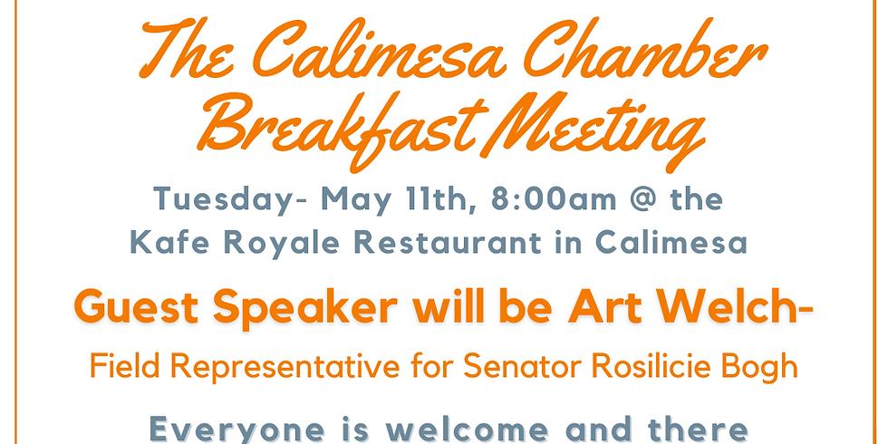 Calimesa Chamber Breakfast Meeting