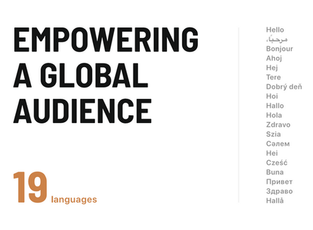 Spaceflow supports 19 languages and is on the mission to change the tenant experience globally