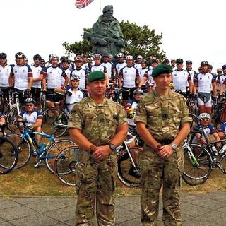 Royal Marines Birthday 350 mile Ride