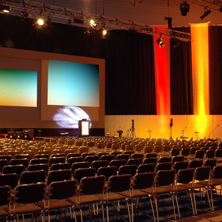 Main session conference room