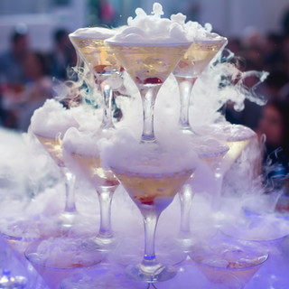 Pyramid of drinks