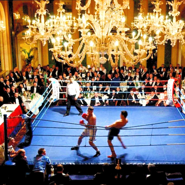 Boxing - Café Royal London