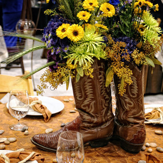 Center piece for a Country event