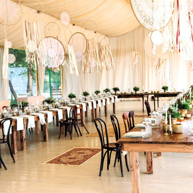 Boho themed Wedding