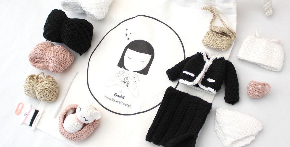 KIT accessoires pour poupée Marie