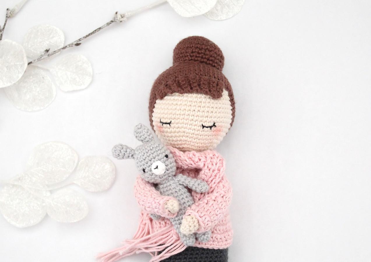 Tenue hivernale pour la poupée Simone