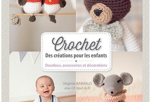 """Livre """" Des créations au crochet """" dédicacé"""