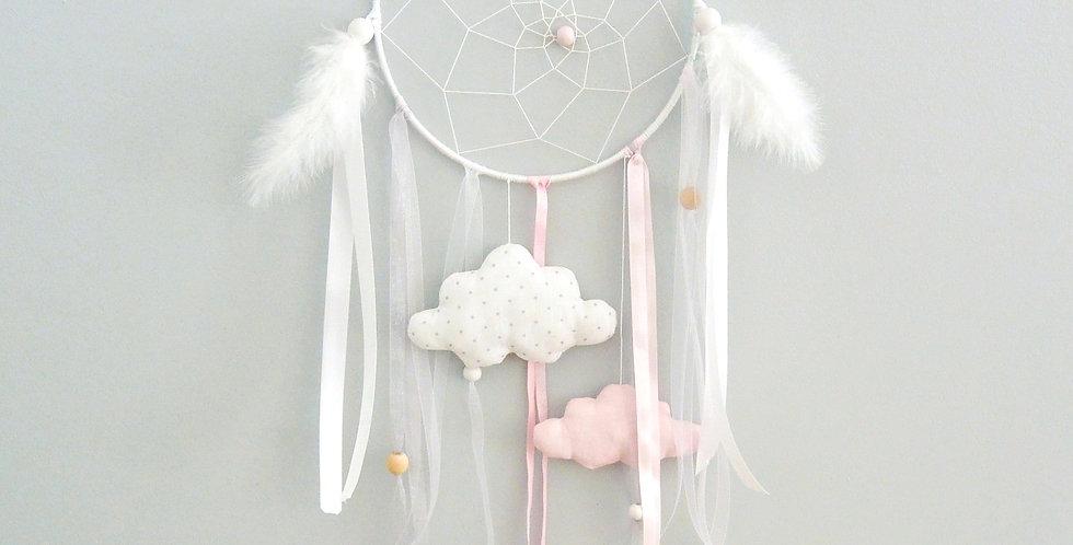 Attrape rêve poétique suspensions nuages