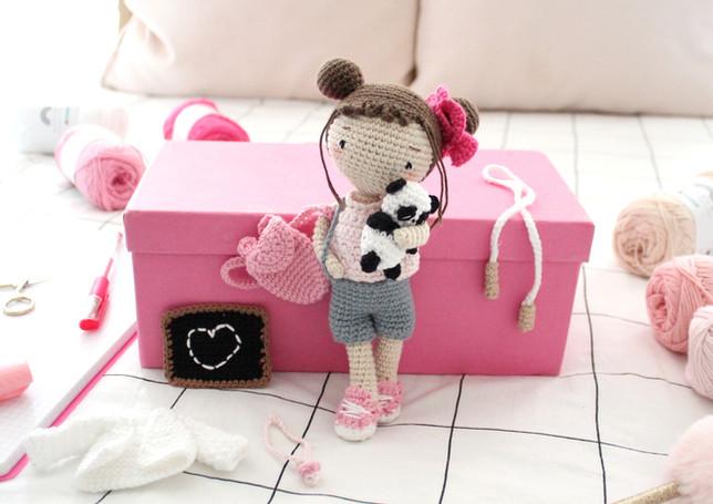 La poupée Vanille