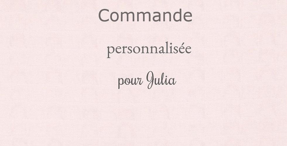 Commande personnalisée pour Julia