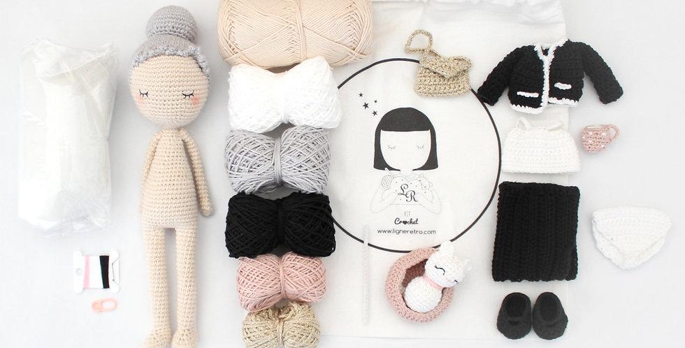 Kit complet Poupée Marie + accessoires