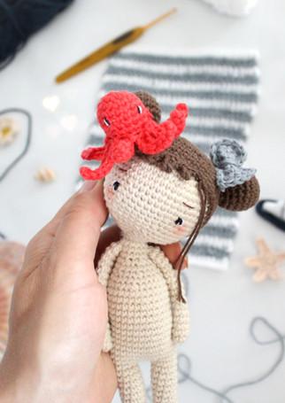 La poupée vanille | Kit crochet diy et tutoriel