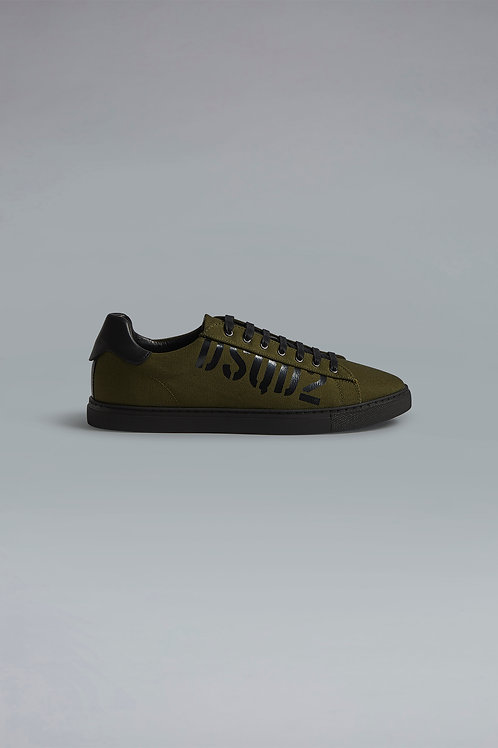 DSQUARED2 - MILITARY PUNK NEW TENNIS SNEAKER