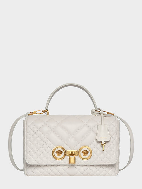 VERSACE - QUILTED ICON DUAL CARRY BAG