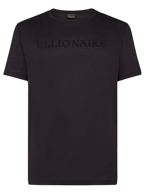 BILLIONAIRE - T-shirt Round Neck SS Logos